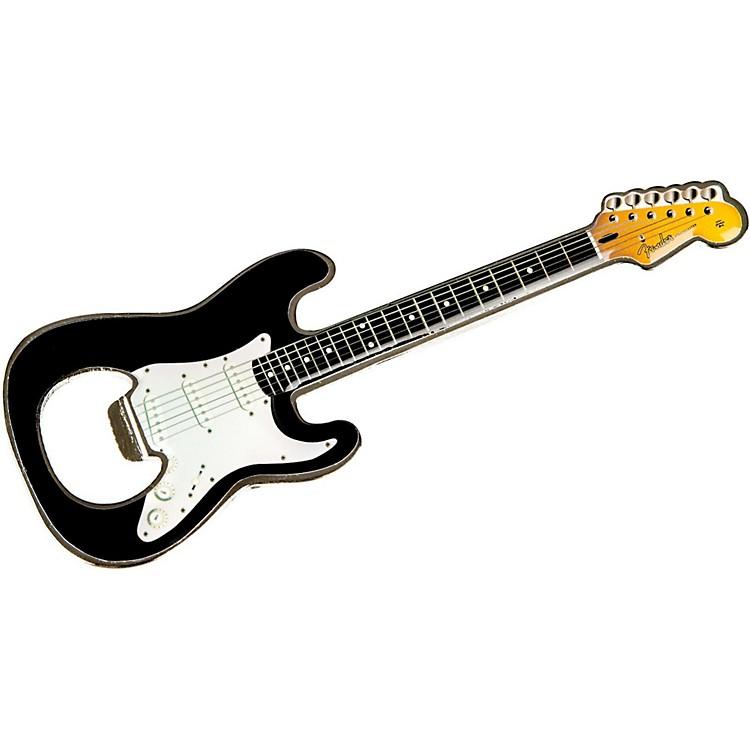 FenderStratocaster Bottle Opener MagnetBlack
