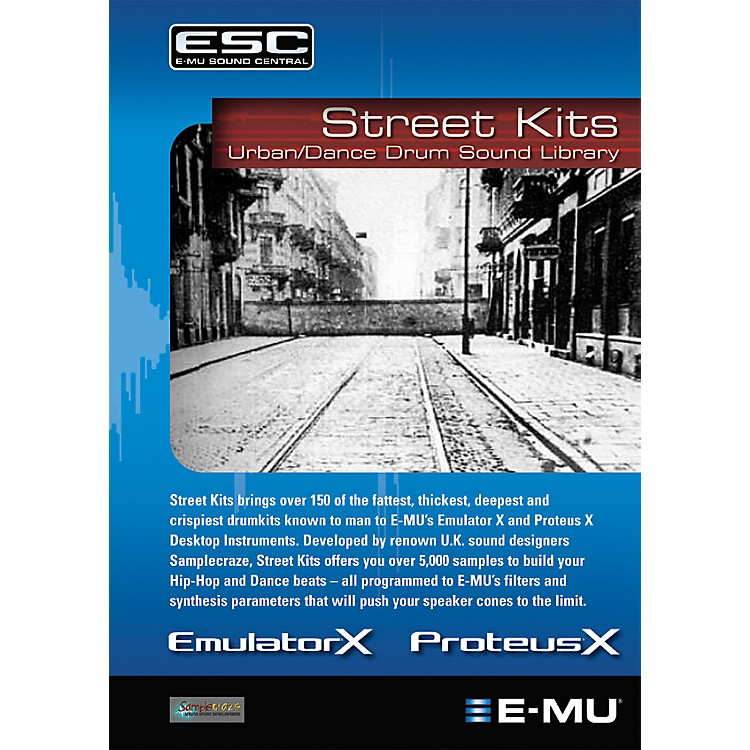 E-mu Street Kits Sounds (CD)