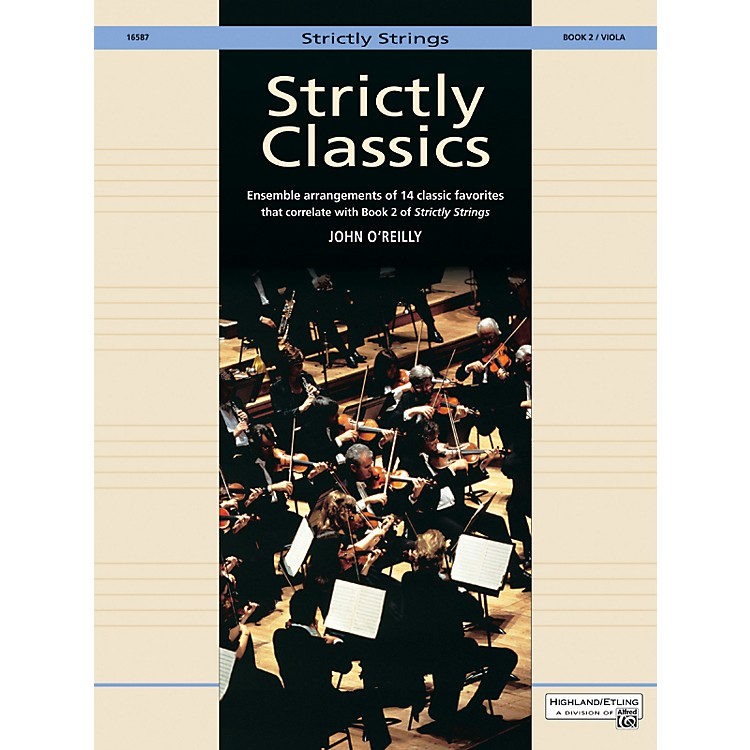 Alfred Strictly Classics Book 2 Viola