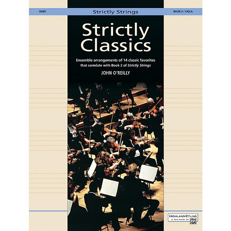 AlfredStrictly Classics Book 2 Viola