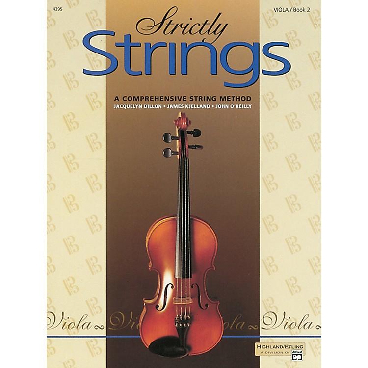AlfredStrictly Strings for Viola, Book 2