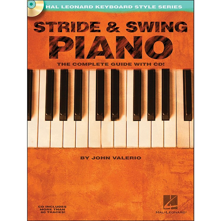 Hal Leonard Stride & Swing Piano Book/CD The Complete Guide with CD