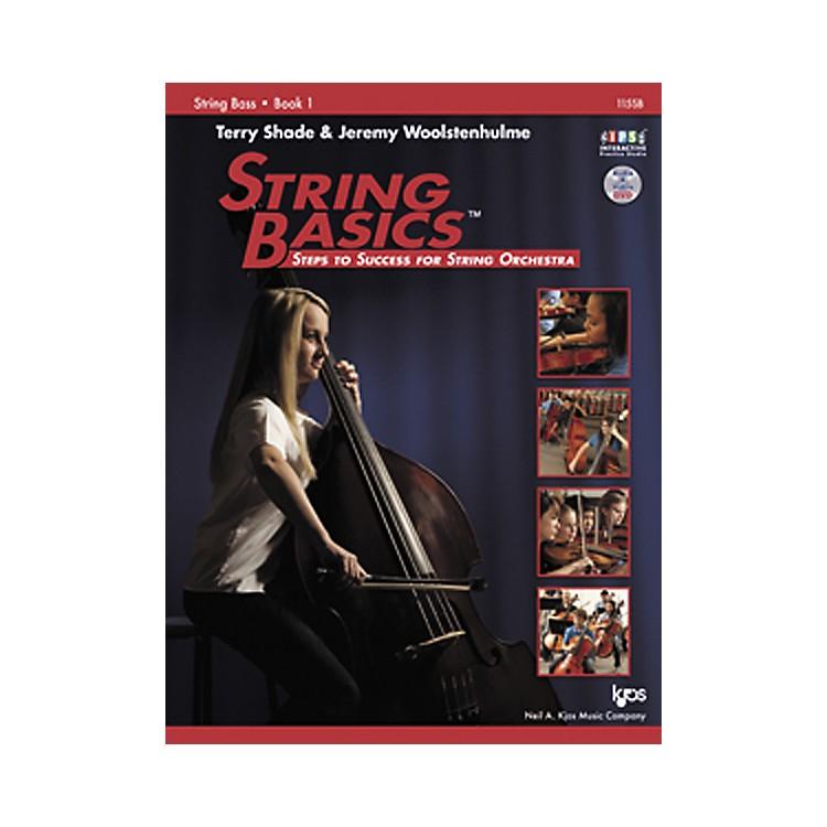 KJOSString Basics Book 1 for String Bass