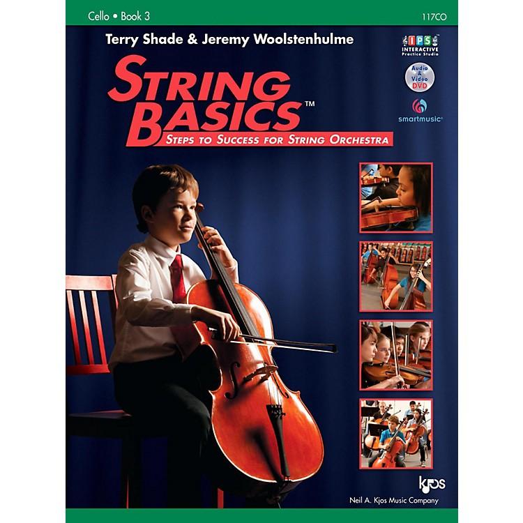 KJOSString Basics Book 3 - Cello