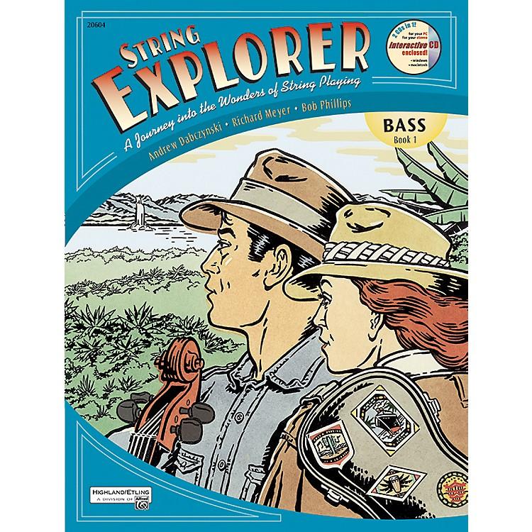 AlfredString Explorer Book 1Bass