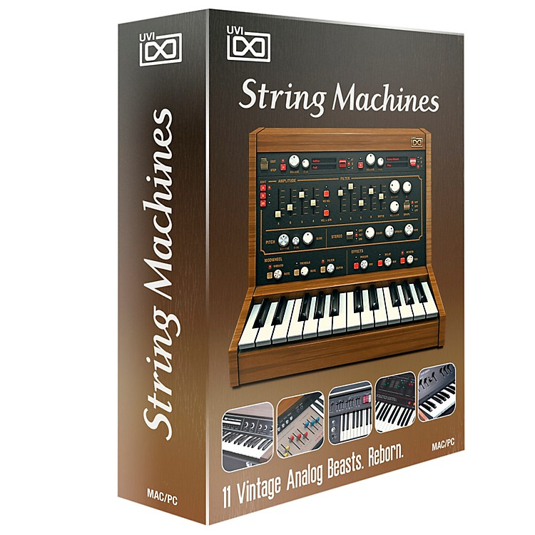 UVIString Machines 11 Analog String Synths Software DownloadSoftware Download
