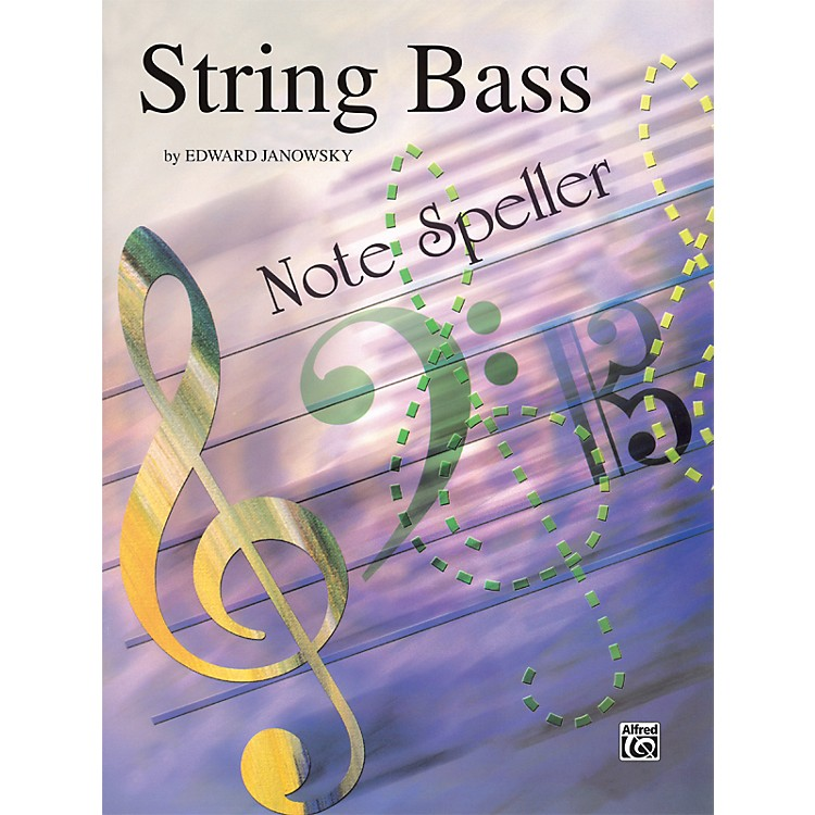 Alfred String Note Speller String Bass
