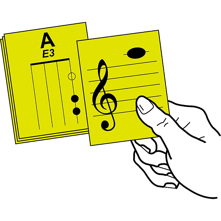 Notes & Strings Stringed Instrument Flashcards