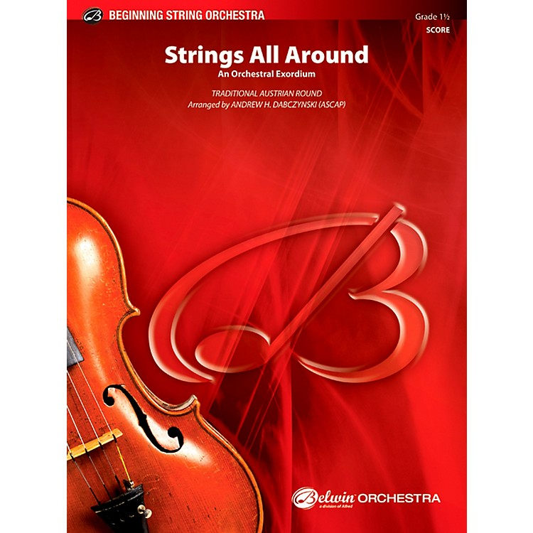 Alfred Strings All Around String Orchestra Grade 1.5 Set