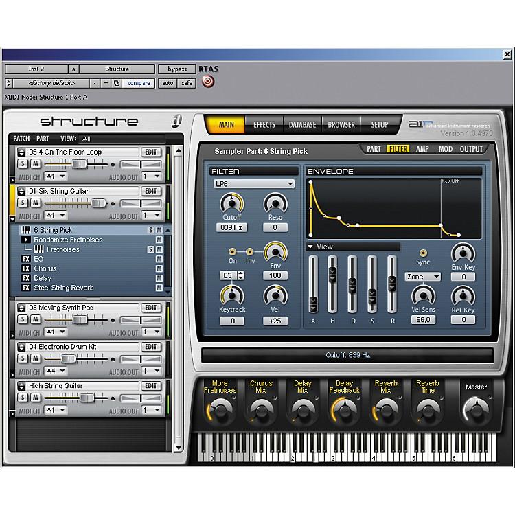 DigidesignStructure Sampler Virtual Instrument
