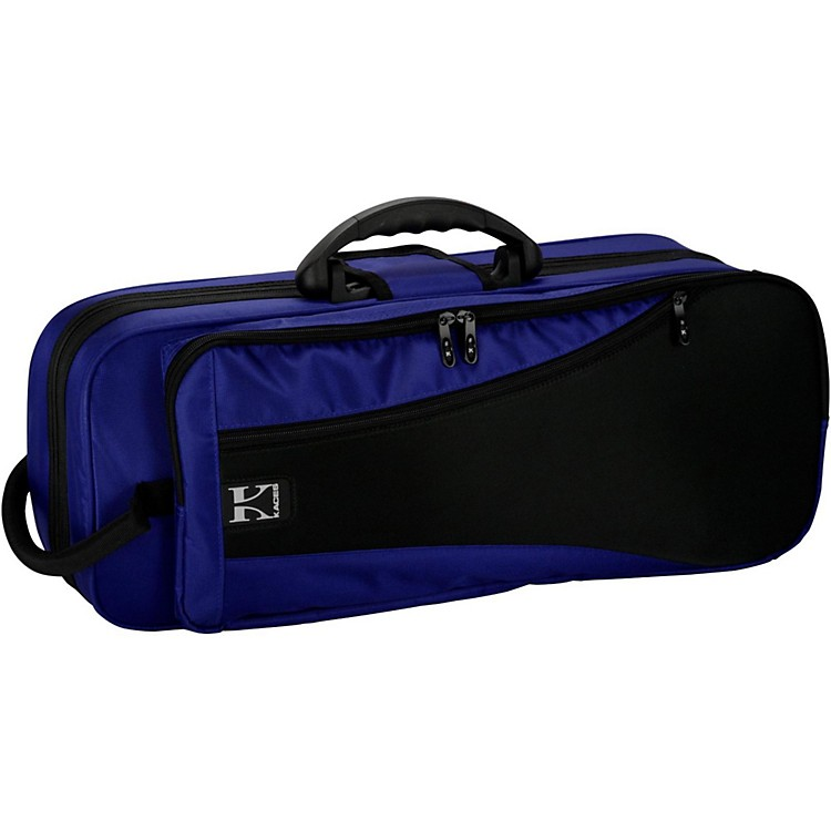 Kaces Structure Series Polyfoam Trumpet Case Dark Blue
