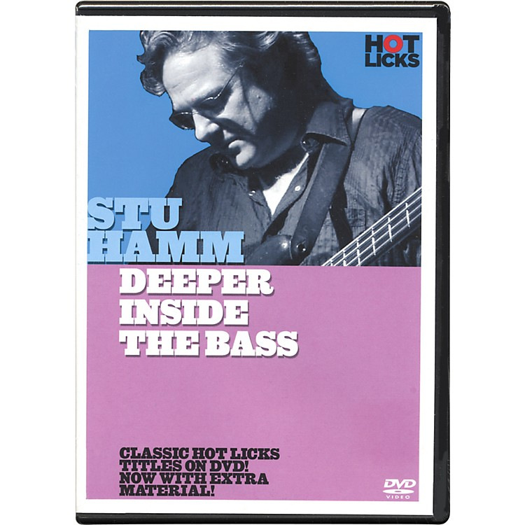 Hot LicksStu Hamm Deeper Inside the Bass DVD