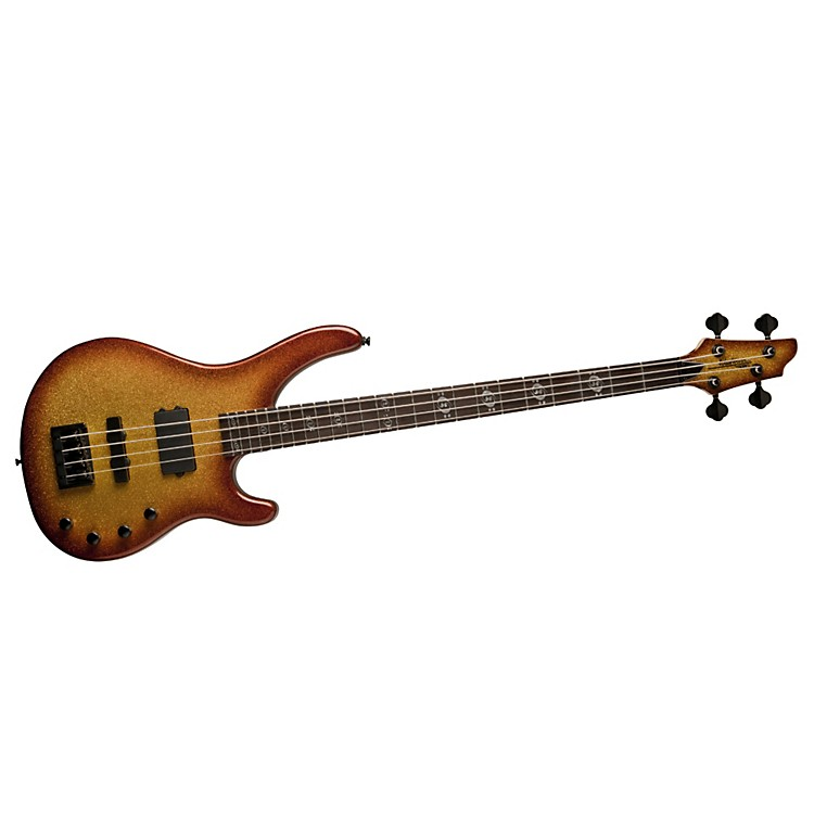 Washburn Stu Hamm Signature Electric Bass w/ Active Pickups and Piezo Saddles Tobacco Sunburst Sparkle