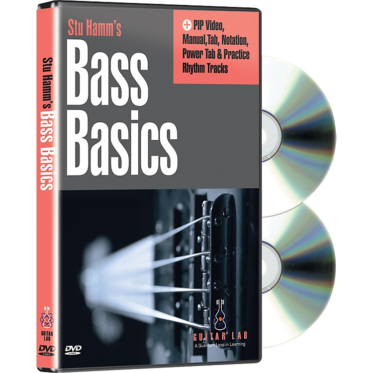 eMedia Stu Hamm U: Bass Basics (2-DVD Set)