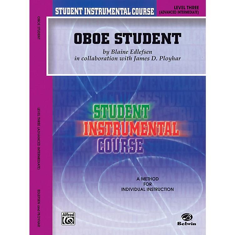 AlfredStudent Instrumental Course Oboe Student Level 3 Book