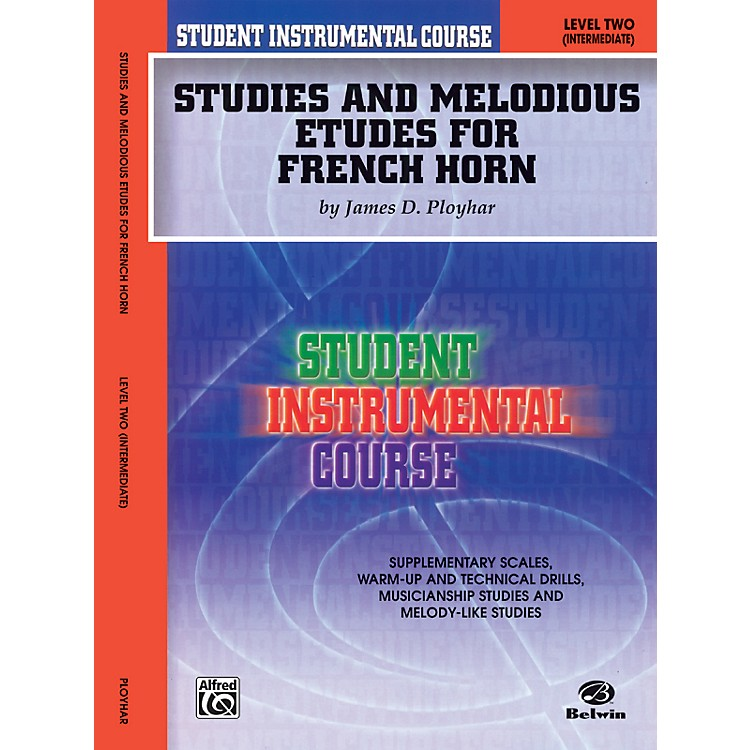 Alfred Student Instrumental Course Studies and Melodious Etudes for French Horn Level II