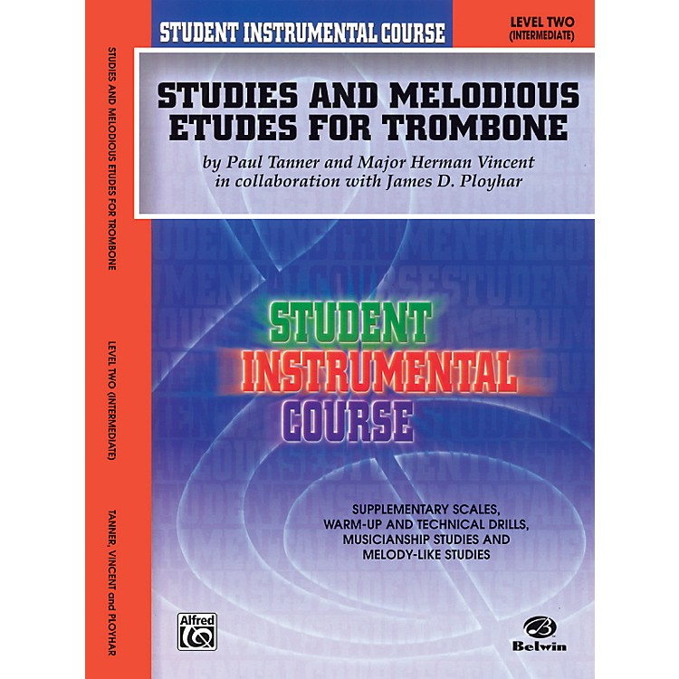 AlfredStudent Instrumental Course Studies and Melodious Etudes for Trombone Level II