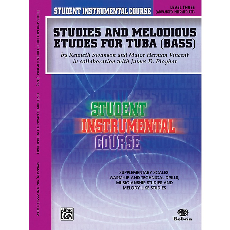 AlfredStudent Instrumental Course Studies and Melodious Etudes for Tuba Level III