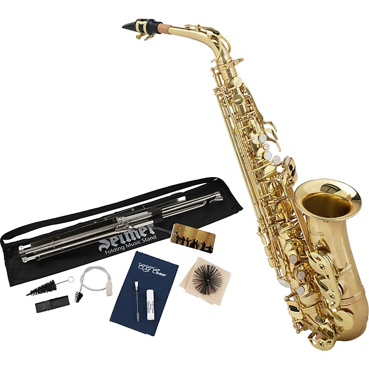 Allora Student Series Alto Saxophone Model AAAS-301 with Accessory Pack