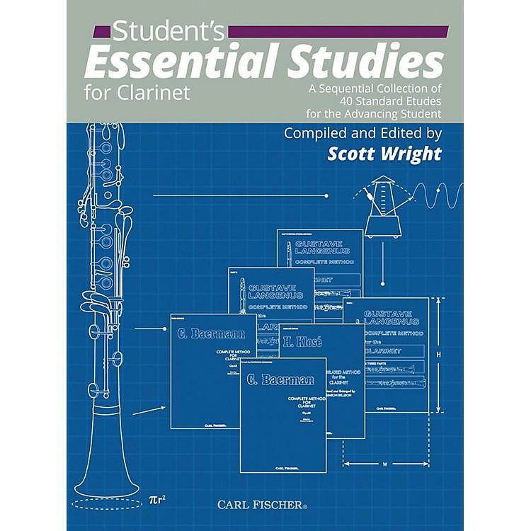 Carl FischerStudent's Essential Studies For Clarinet