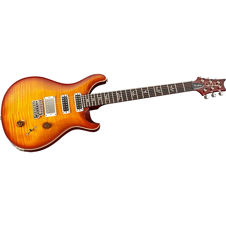 PRS Studio 10-Top With Pattern Thin Neck Electric Guitar