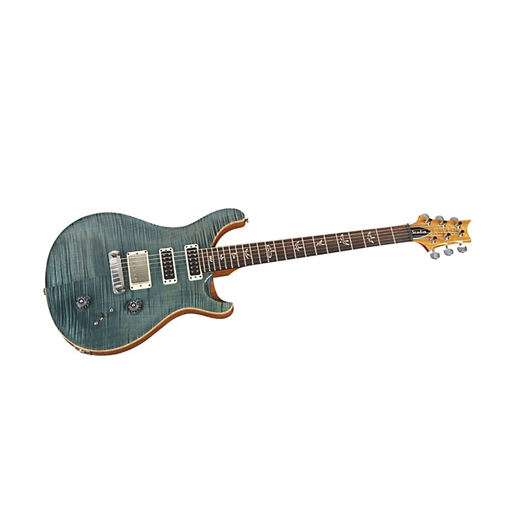 PRS Studio 10 Top With Stoptail Electric Guitar Blue Crab Blue