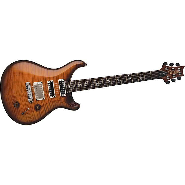 PRS Studio 10 Top With Stoptail Electric Guitar Evergreen