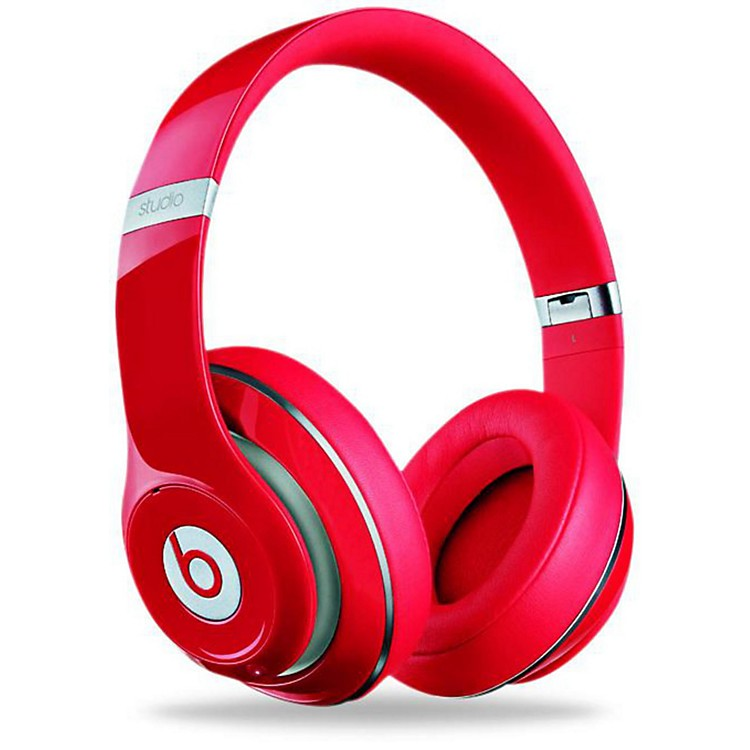 Beats By Dre Studio 2.0 Over-Ear Headphones Red
