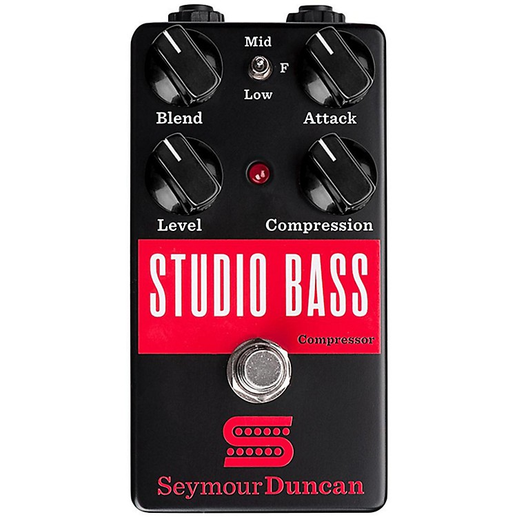 Seymour Duncan Studio Bass Compressor Effects Pedal