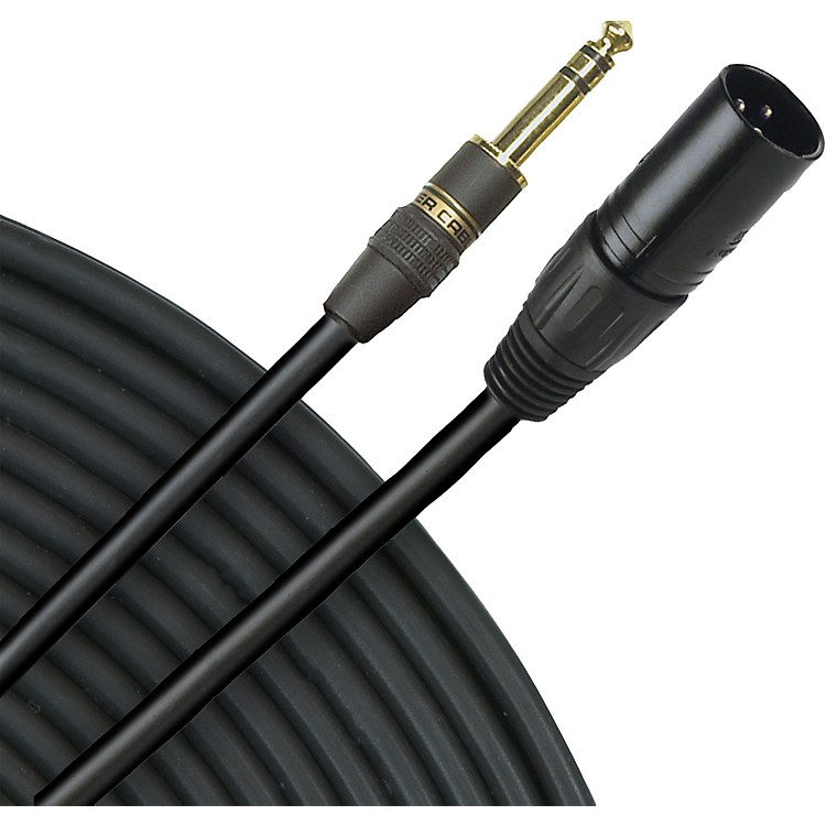 Monster CableStudio Link 500 Interconnect TRS (M) - XLR (M)2 Meters