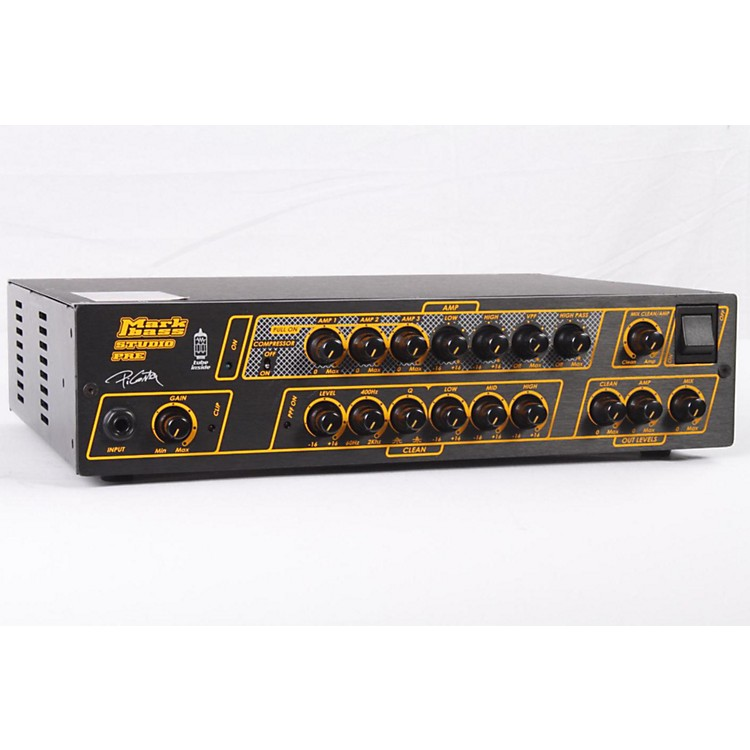 Markbass Studio Pre Bass Preamp Regular 886830737930
