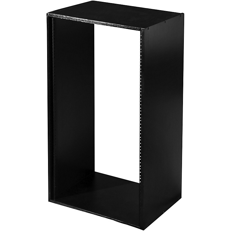 Gator Studio Rack Black 16-Space