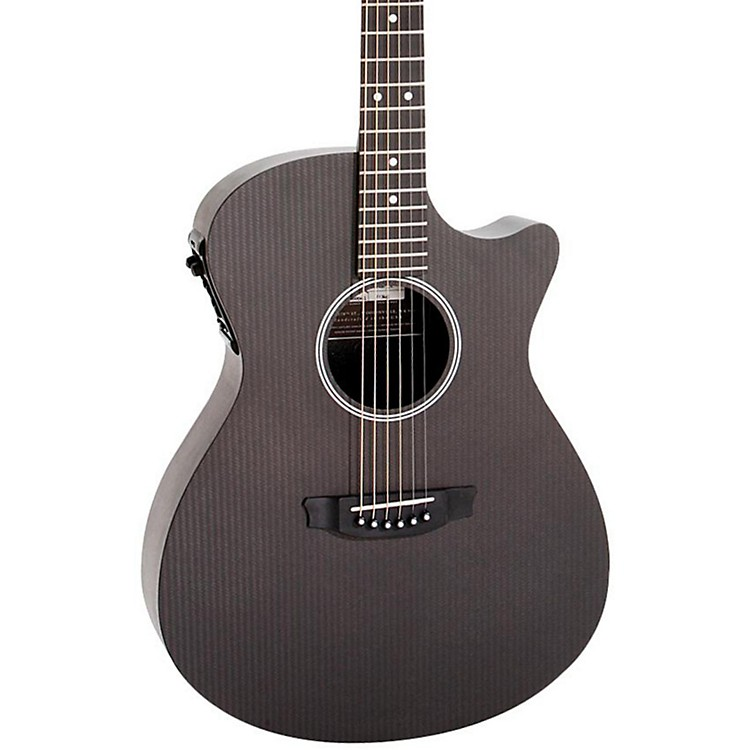 Rainsong Studio Series S-OM1000N2 Acoustic-Electric Guitar Carbon