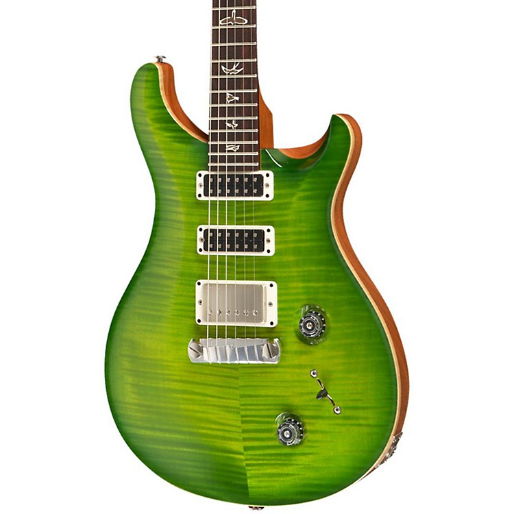 PRSStudio With Pattern Thin Neck and Stoptail Electric GuitarErize Verde