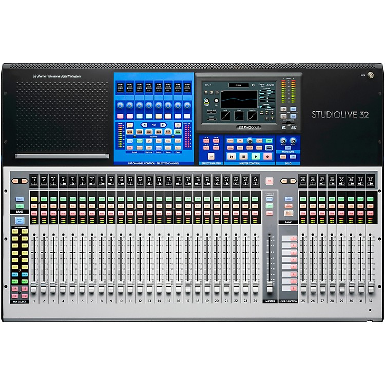 Presonus Studiolive 32 Digital Mixer Music123