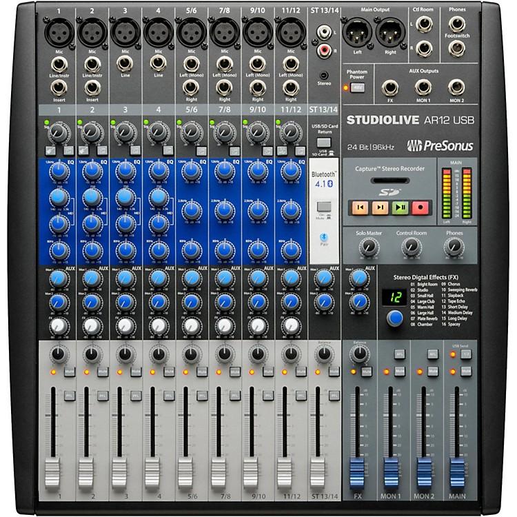 PreSonusStudioLive AR12 14-Channel Hybrid Digital/Analog Performance Mixer