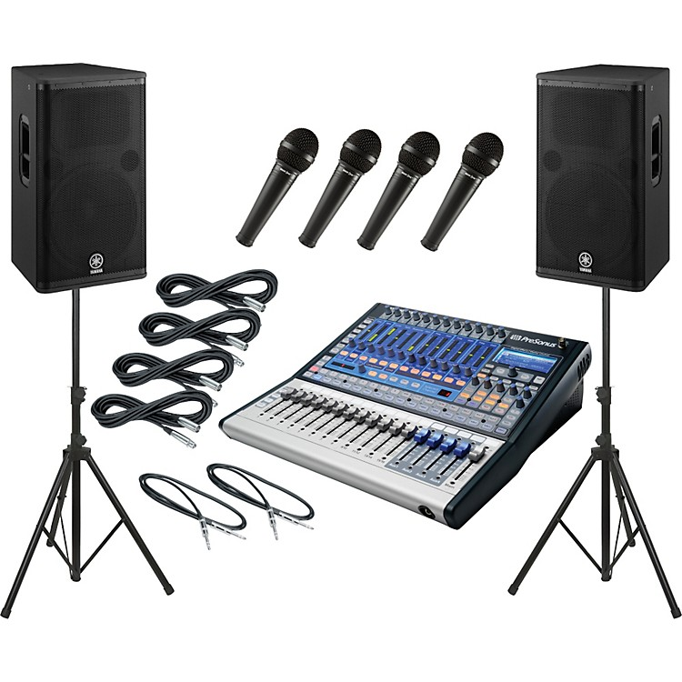 PreSonusStudiolive 16.0.2 / Yamaha DSR115 PA Package