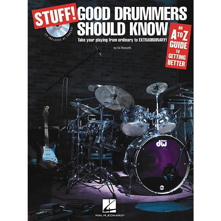 Hal LeonardStuff! Good Drummers Should Know (Book/CD)
