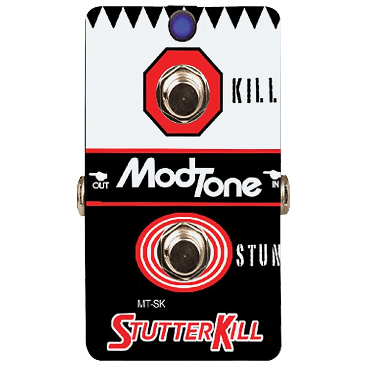 modtone stutterkill kill switch guitar effects pedal music123. Black Bedroom Furniture Sets. Home Design Ideas