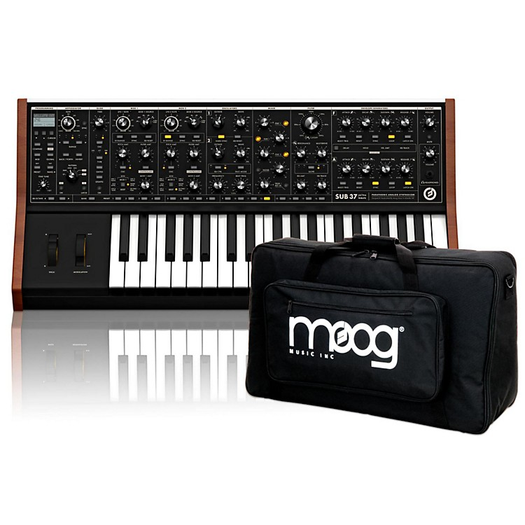 MoogSub 37 Tribute Edition with Gig Bag and Warranty