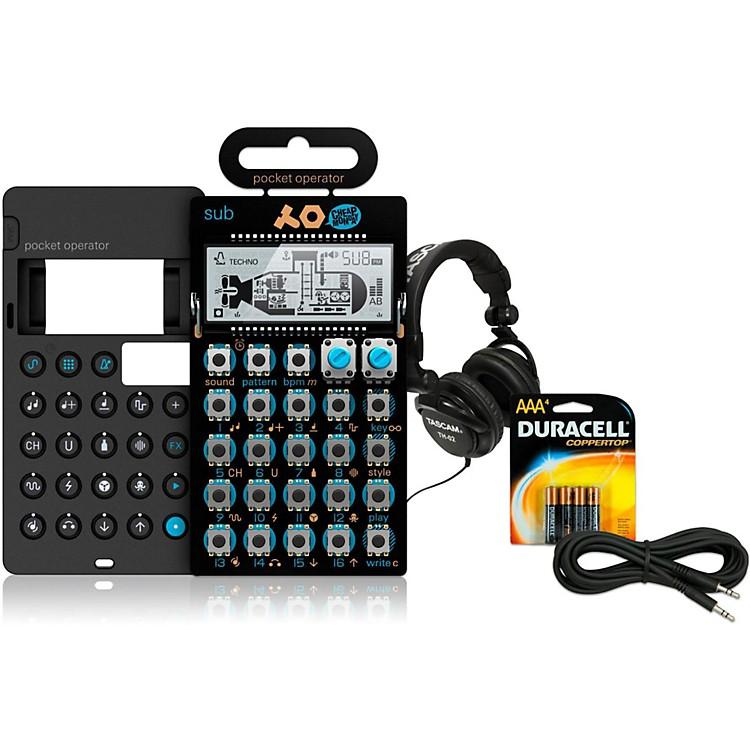 Teenage EngineeringSub Pocket Operator with Case, Batteries, Headphones and Cable
