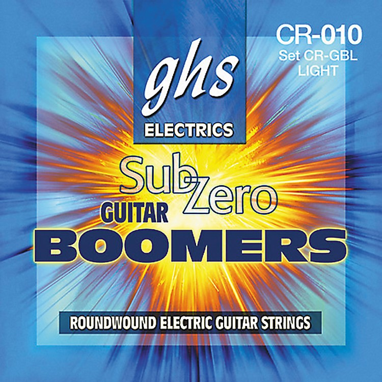 GHS Sub Zero Guitar Boomers Light