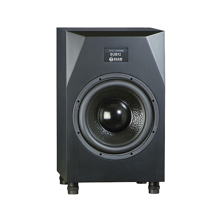 Adam Audio Sub12 Powered Studio Subwoofer Black