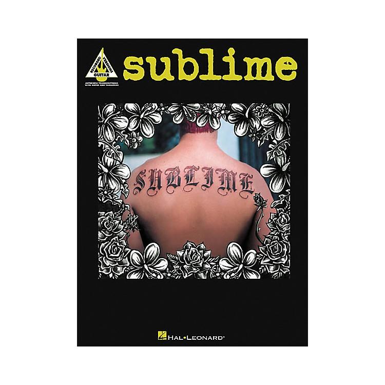 Hal LeonardSublime Guitar Tab Book