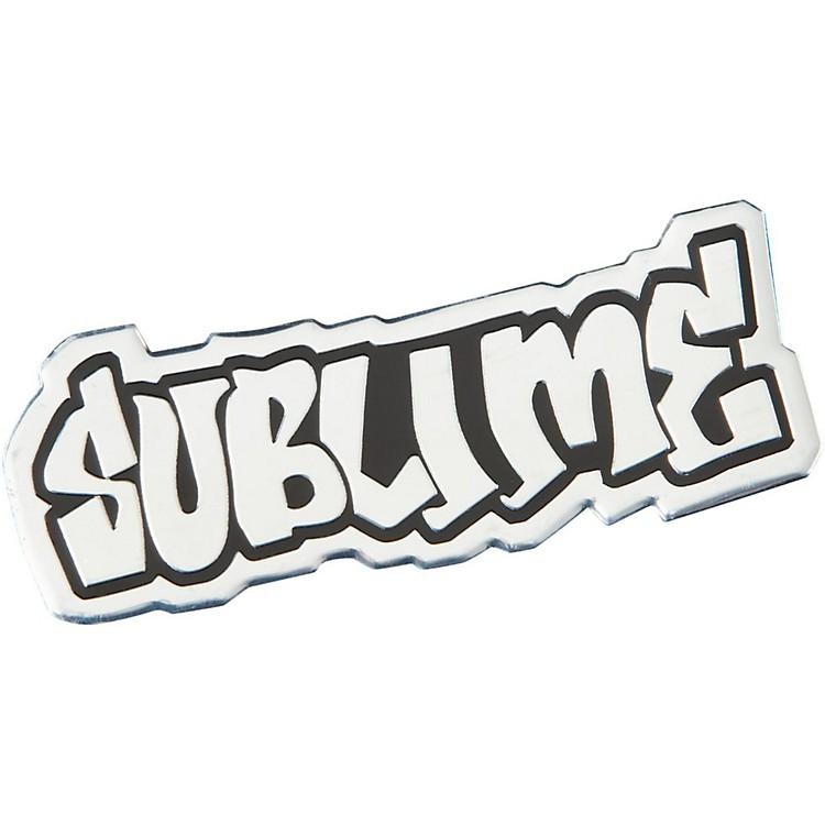 C&D VisionarySublime Logo Metal Heavy Metal Sticker