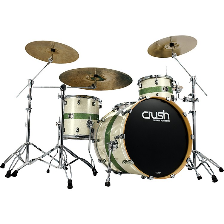 crush drums percussion sublime maple 4 piece shell pack w 24 bass drum music123. Black Bedroom Furniture Sets. Home Design Ideas