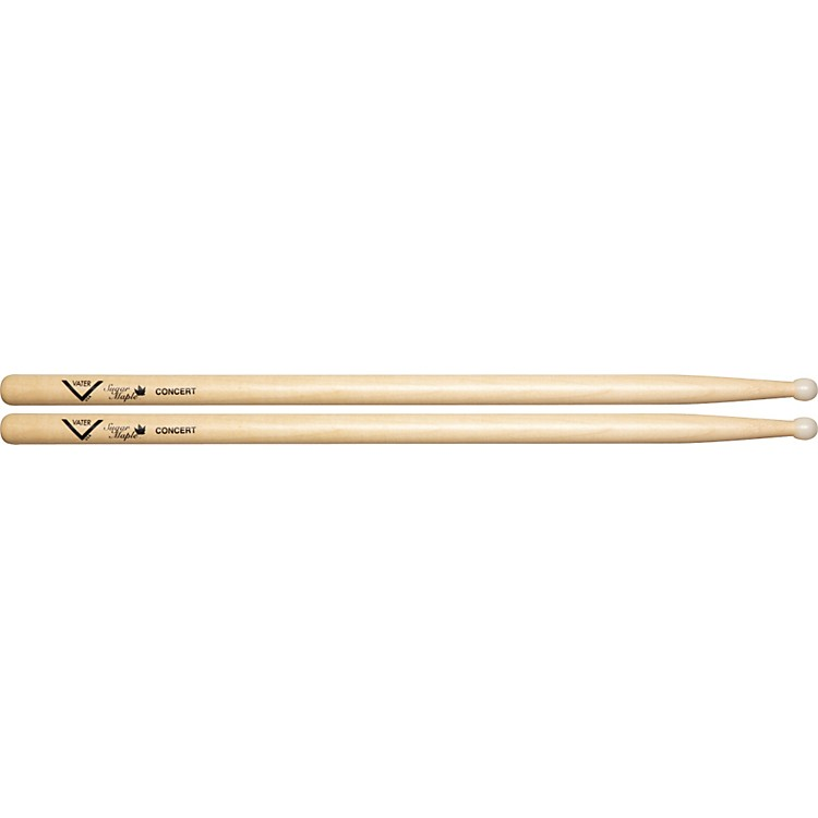 Vater Sugar Maple Drum Sticks Concert Nylon