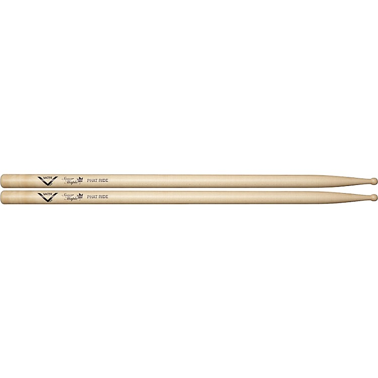Vater Sugar Maple Phat Ride Drum Sticks