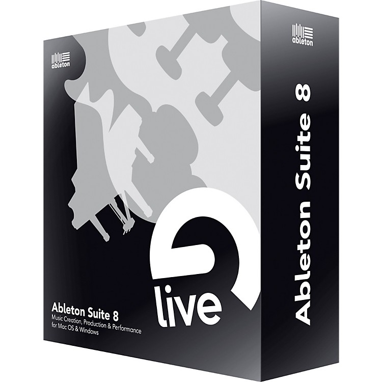 Ableton Suite 8 Upgrade from Live 1-6