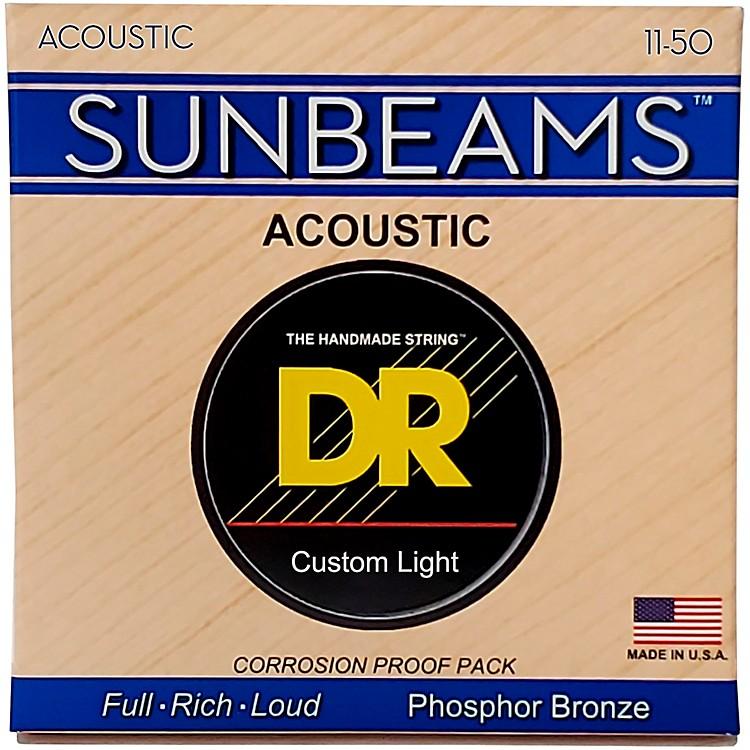 DR StringsSunbeam Phosphor Bronze Medium Lite Acoustic Guitar Strings